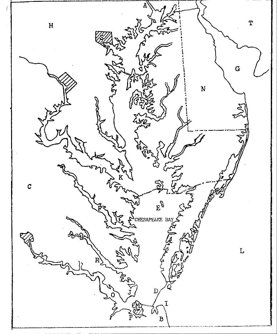 chesapeake bay coloring pages - photo#4